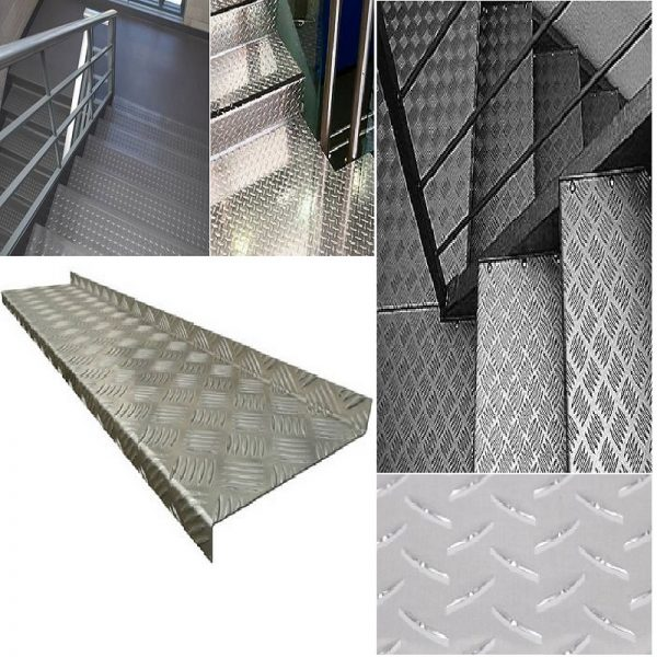 Anti Slip Checker Plate Stair Tread