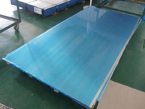 3003 H14 Aluminum tread sheet in five bar and diamond plate
