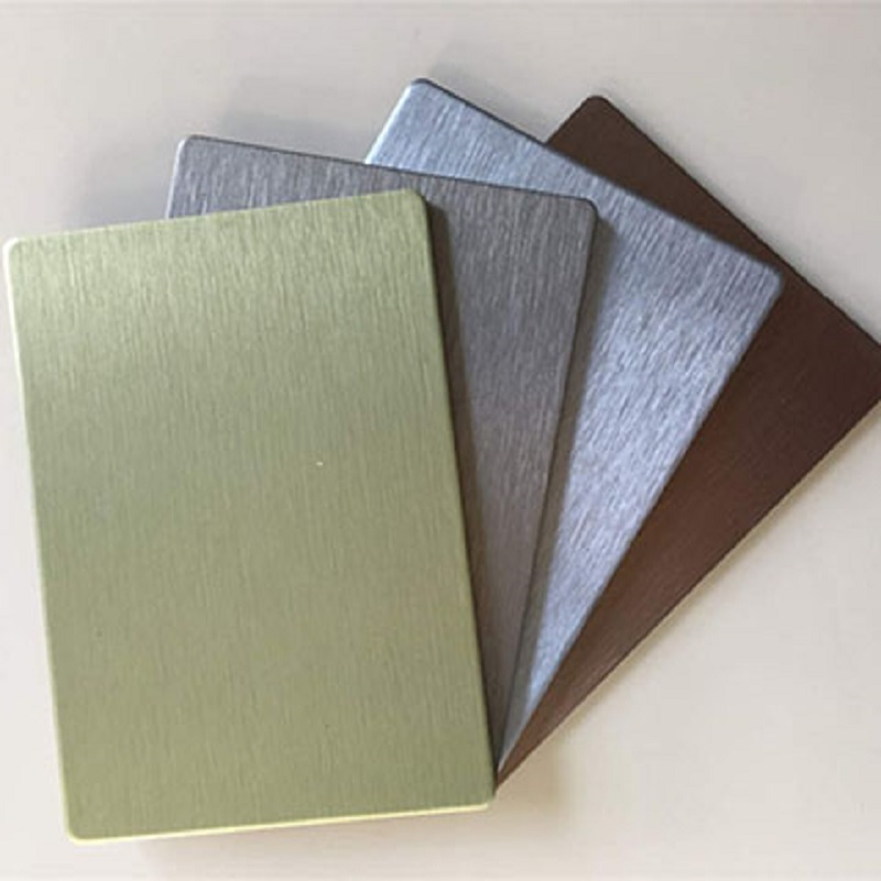 Brushed Aluminium Composite Sheet Ruiyi Aluminum