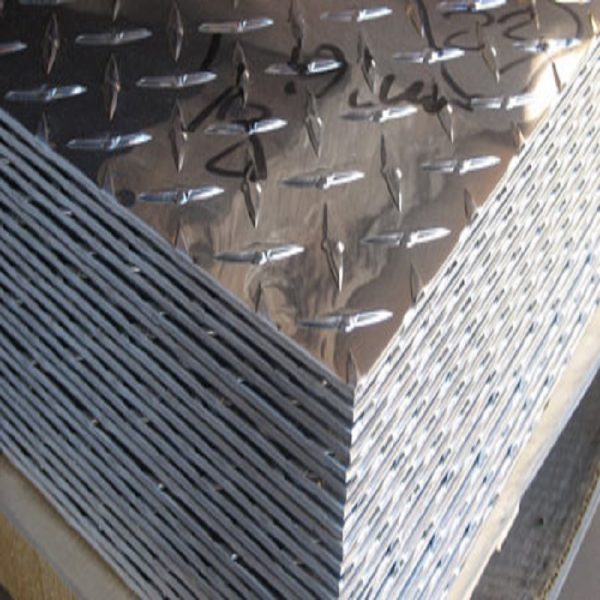Commercial aluminum diamond checker plate