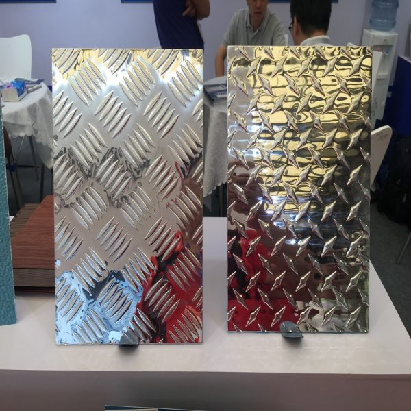 3003 diamond plate aluminium polished